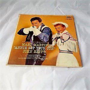 Mary Martin Annie Get Your Gun Vinyl LP Record